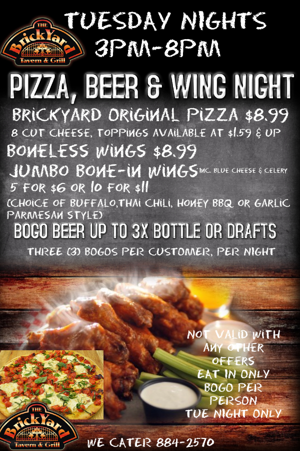 WING NIGHT 3